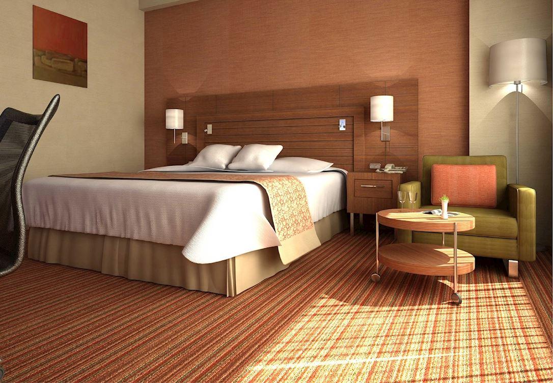 Modern ve geniş odalar